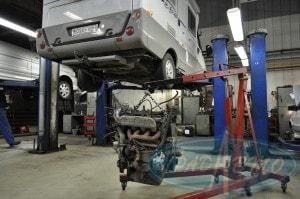 Диагностика и ремонт ходовой части микроавтобусов