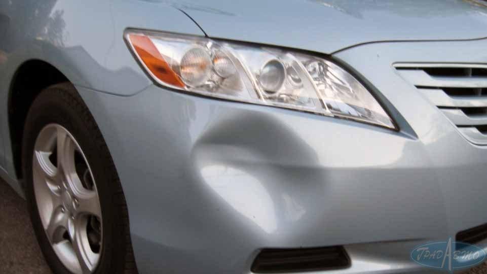 Как самому устранить вмятины на авто