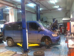 ремонт Mercedes Benz Vito в автосервисе Град Авто